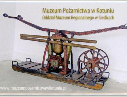 Osiągnięcia Muzeum Pożarnictwa w Kotuniu w 2020 roku