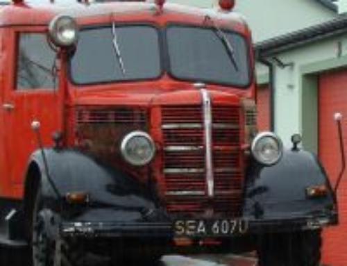 Renowacja samochodu pożarniczego GM-8 marki Bedford z 1951 r.